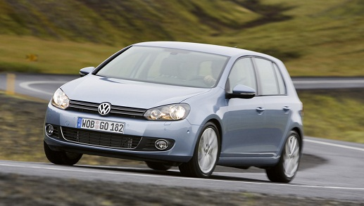 Der aktuelle VW Golf 6